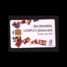 Telephone card .  Phonecard Gemplus special